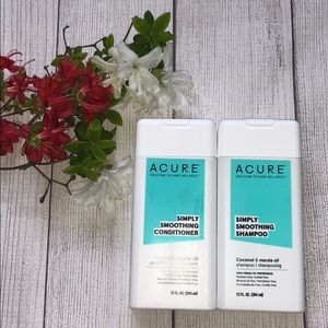 Acure Shampoo & Conditioner